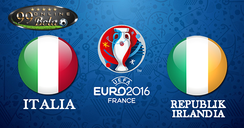 Italia Vs Republik Irlandia