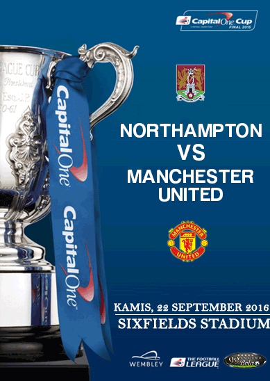 Prediksi Northampton Vs Manchester United 22 September 2016