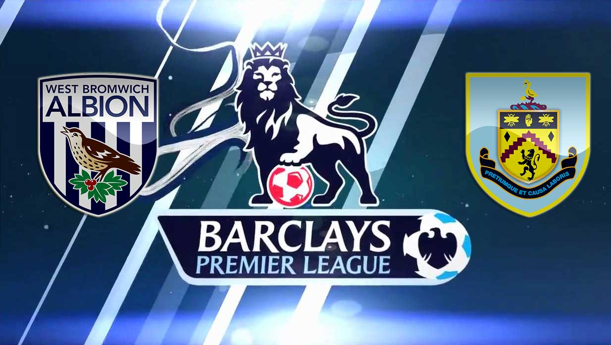 Prediksi West Bromwich Albion Vs Burnley 22 November 2016